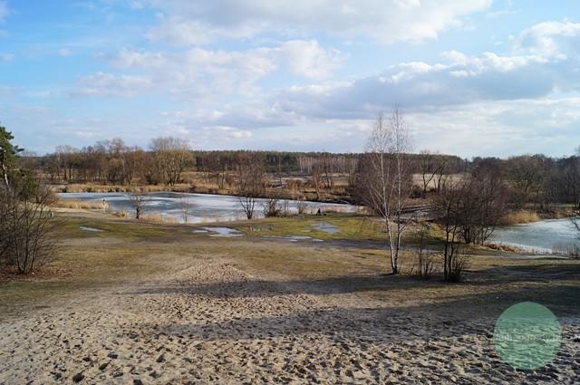 zespół przyrodniczo-krajobrazowy Górki Szymona naterenie Chojnowskiego Parku Krajobrazowego