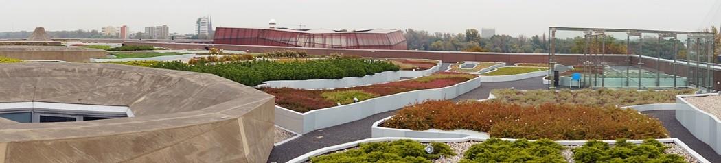 Ogród nadachu Centrum Nauki Kopernik