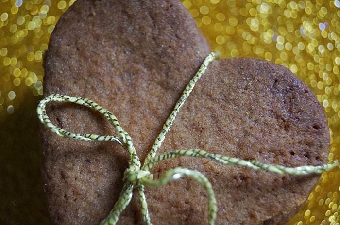 żytnie ciasteczka zmiodem