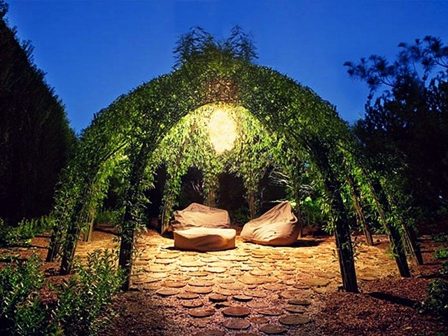 żywa Architektura W Ogrodzie Przydomowym