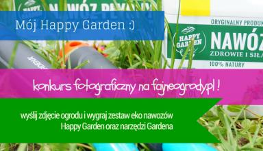 konkurs happy garden