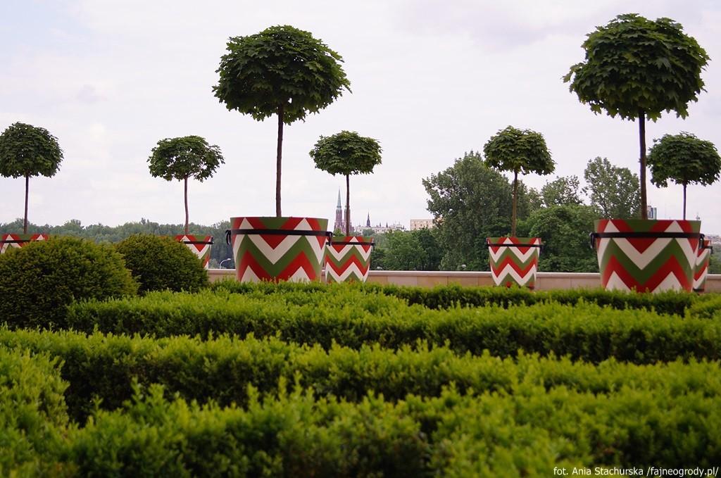 Ogrody Zamku Królewskiego ogród górny