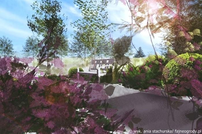 wizualizacja ogrodu,
