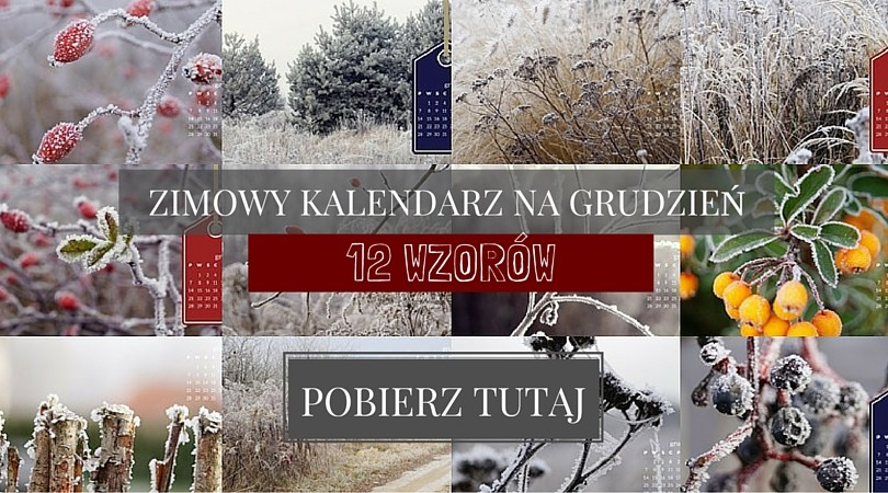 zimowy kalendarz