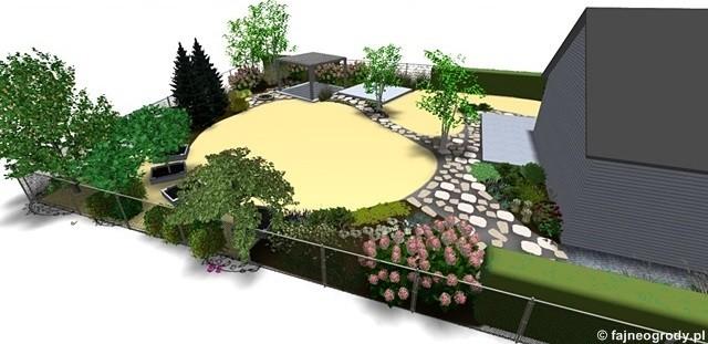 Projekt Ogrodu Przydomowego 18