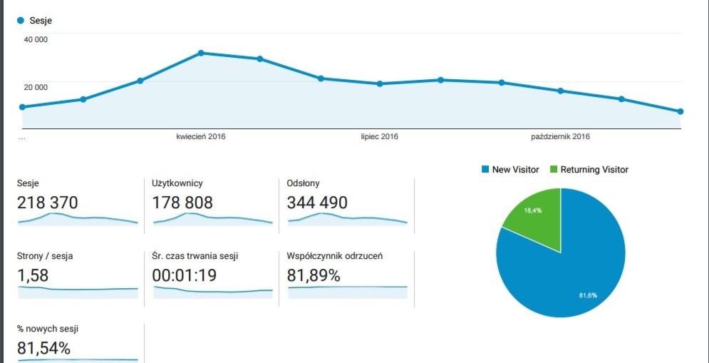 blog statystyki