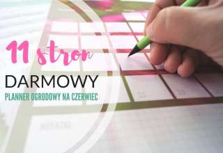 planner ogrodowy