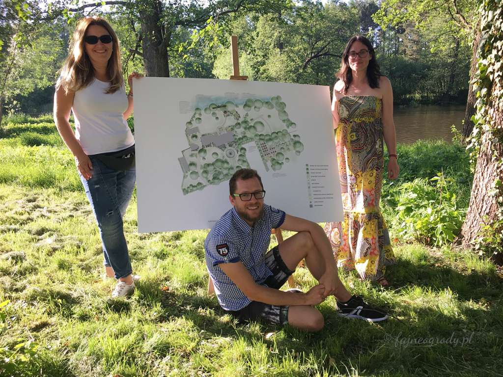 projekt parku rzuców