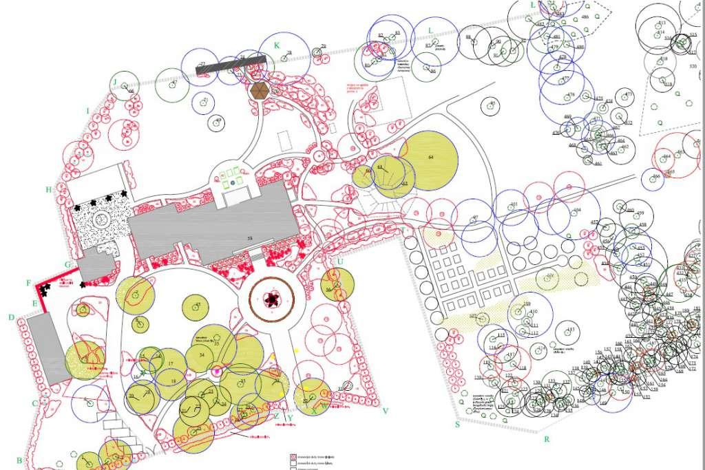 Projekt rewitalizacji parku wRzucowie