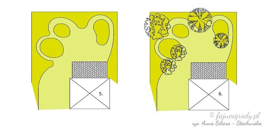 ogród, ogrody, projekt